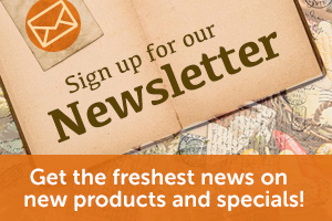 Newsletter - Get the freshest news on new products and specials