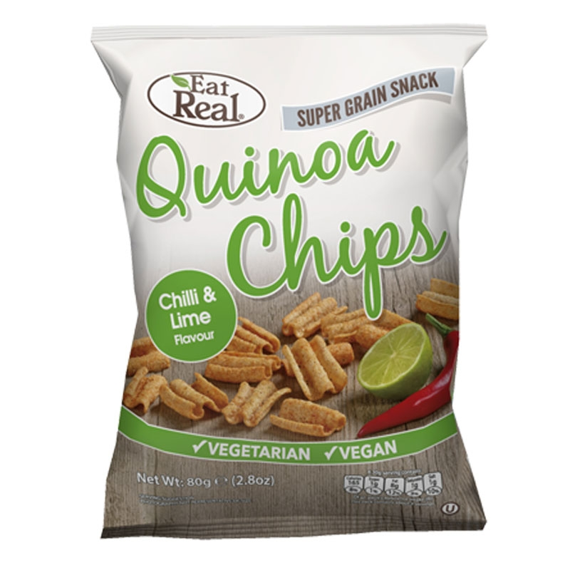 Quinoa Chips Chili&Lime