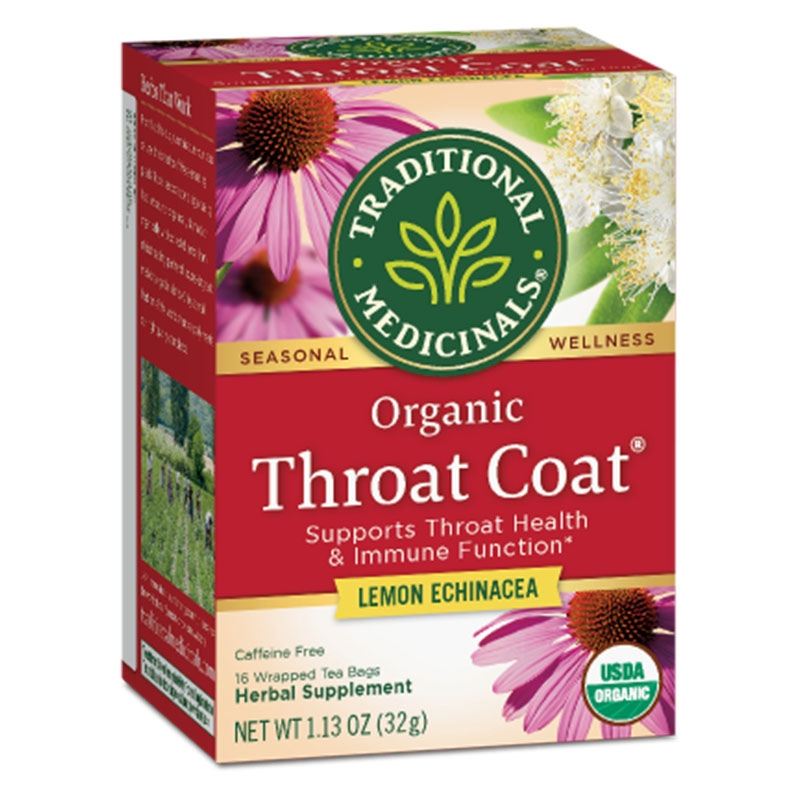 Throat Coat with Lemon & Echinachea