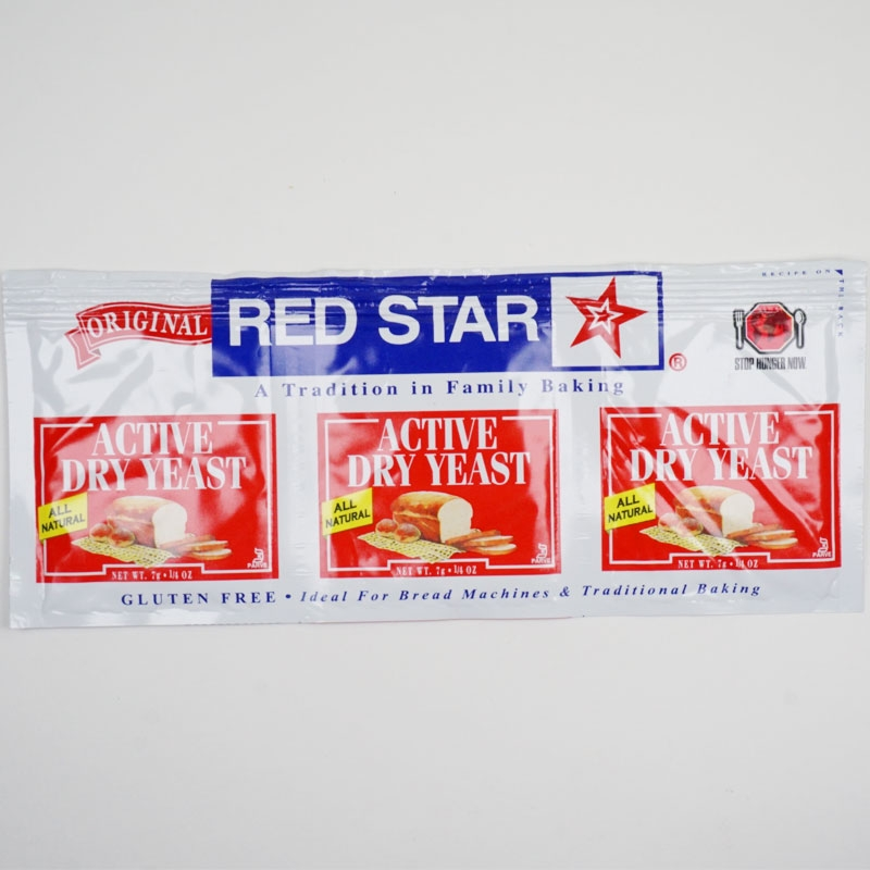 Red Star Dry Yeast 3-Pack