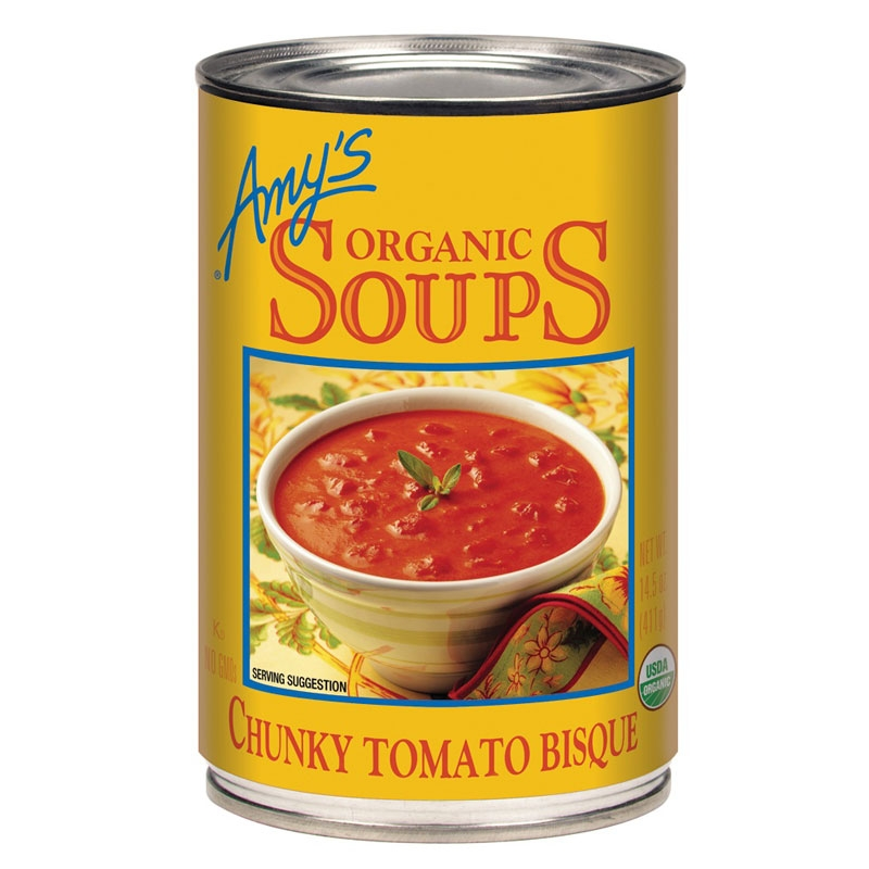 Chunky Tomato Bisque Soup