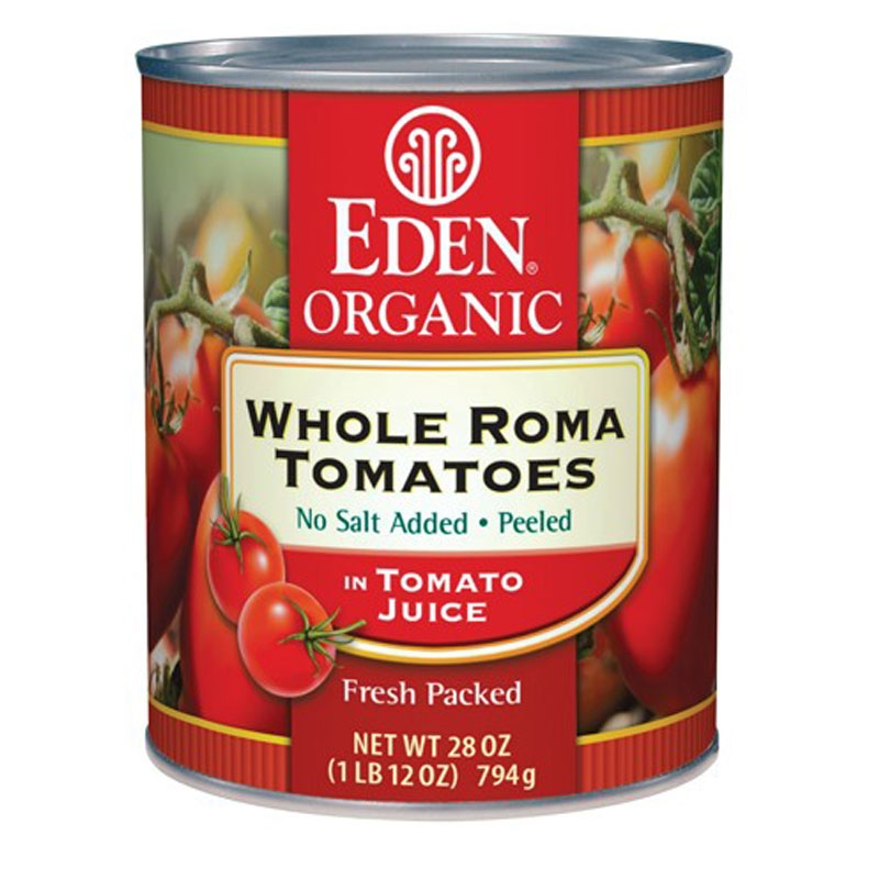 Canned Roma Tomatoes