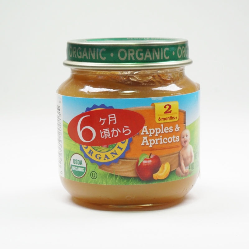 Apple & Apricot Baby Food