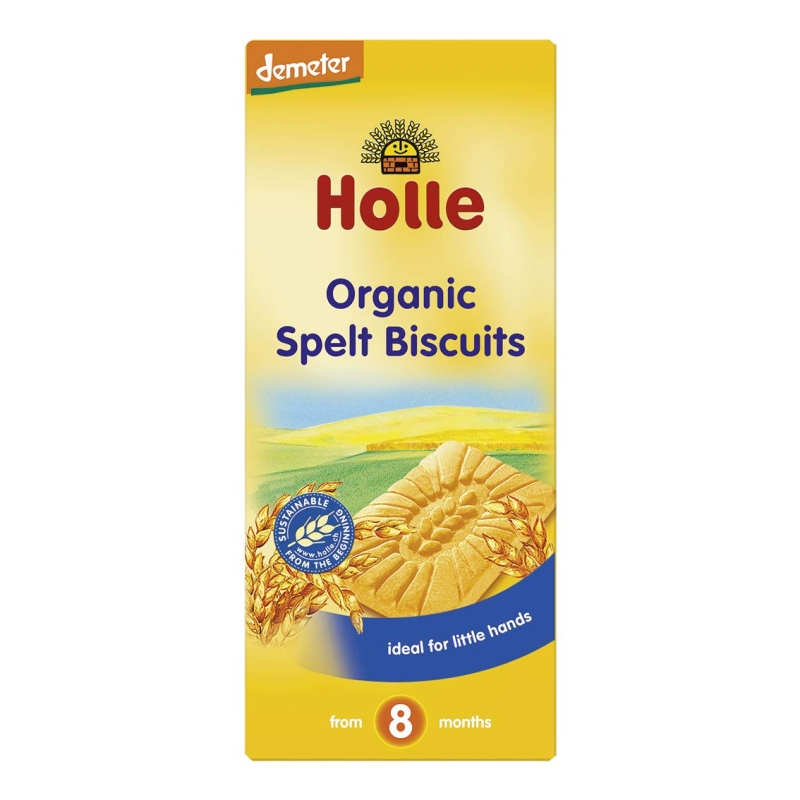 Organic Spelt Biscuits from 8 months