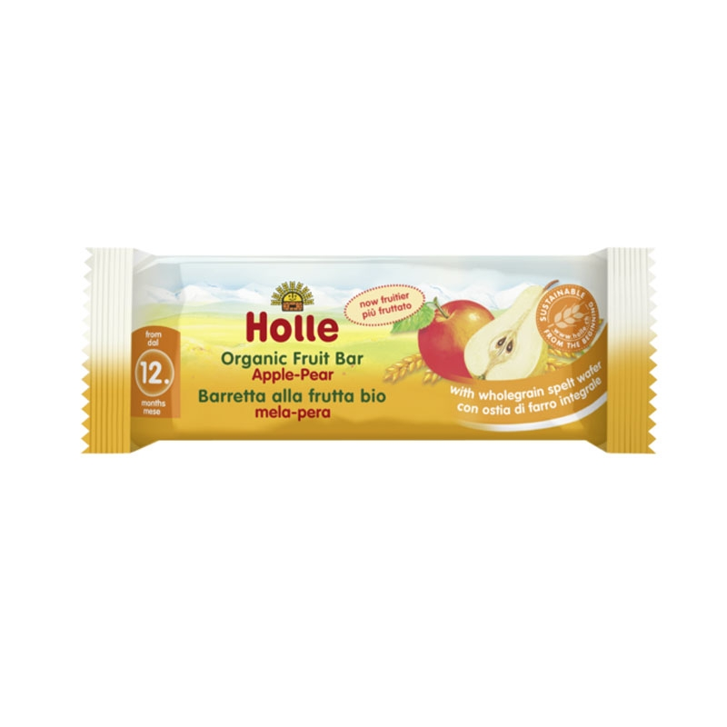 Organic Fruit Bar Apple & Pear from 12 months