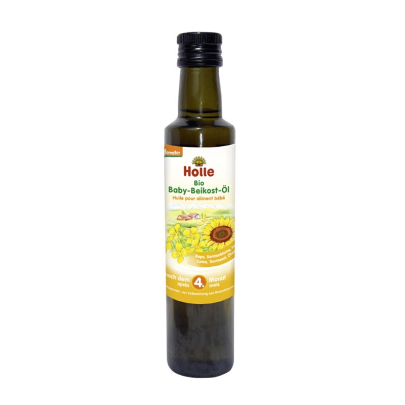 Organic Baby Weaning Oil after 4 months